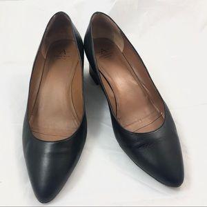 Aquatalia Phoebe Black Heels 9